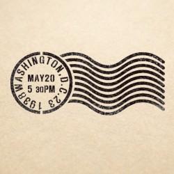 Washington Stamp Stencil...
