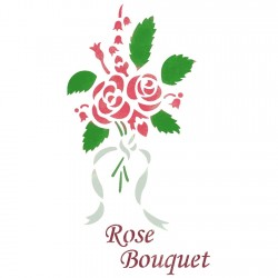 Bouquet of roses Stencils...